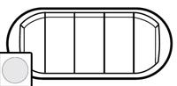 68011 Celiane Бел Комплект клавиш к 5-клавишному выключателю 5 мод