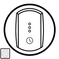 68037 Celiane Бел Накладка таймера-выключателя 67423