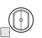 68072 Celiane Бел Накладка выключателя дв.PLC