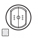 68074 Celiane Бел Накладка выключателя двухкл. с индикацией