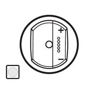 68076 Celiane Бел Накладка светорегулятора приемник-передатчик PLC/ИК с индикацией состояния 300Вт