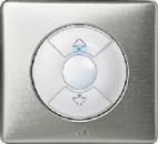 68161 Celiane Бел Накладка электронного жалюзийного выключателя (мех.67251,67256)