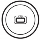 68253 Celiane Бел Лицевая панель для механизма USB розетки