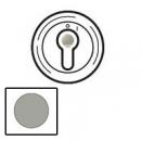 68309 Celiane Титан Накладка выключателя с ключом 2-позиц. мех 67009