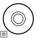 68315 Celiane Титан Клавиша 1-ая для нажимного переключателя 67015 и кнопки 67035