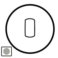 68316 Celiane Титан Клавиша 1-ая для переключателя с рычажком 67016 и кнопки 67036