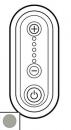 68333 Celiane Титан Накладка светорегулятора нажимного 1000 Вт 5 мод