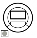 68351 Celiane Титан Накладка датчика движения с световым указателем