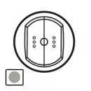 68374 Celiane Титан Накладка выключателя 2-кл с ДУ с индикатором