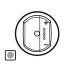 68376 Celiane Титан Накладка светорегулятора с ДУ с индикацией
