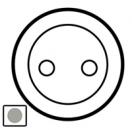 68430 Celiane Титан Накладка розетки с/з (мех 67152, винт.зажим)