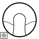 68441 Celiane Титан Накладка вывода кабеля