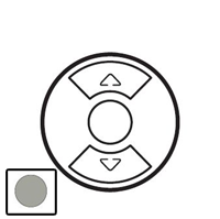 68451 Celiane Титан Накладка выключателя жалюзийного