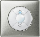 68461 Celiane Титан Накладка индивид-го выключателя для упавления приводами жалюзи