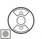 68463 Celiane Титан Накладка выключателя жалюзийного