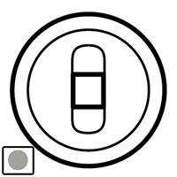 68511 Celiane Титан Накладка 1-ой аудиорозетки мех 67311