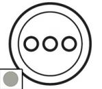 68513 Celiane Титан Накладка 3-ой розетки аудио/видео