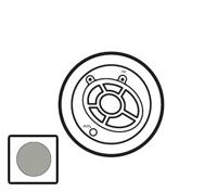 68520 Celiane Титан Лицевая панель для тюнера