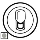 68537 Celiane Титан Накладка ТЛФ 1-ой розетки