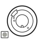68549 Celiane Титан Накладка терморегулятора теплого пола