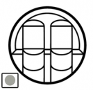 68552 Celiane Титан Накладка компьютерной 2-ой розетки