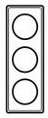 68683 Celiane Мускат Рамка 3-ая (2+2+2 мод)