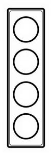68684 Celiane Мускат Рамка 4-ая (2+2+2+2 мод)