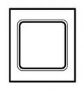 68700 Celiane Беж Рамка 2х5 мод
