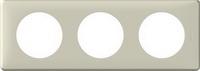 68753 Celiane Светло-Беж Рамка 3-ая (2+2+2 мод)
