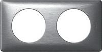 68922 Celiane Алюминий Рамка 2-я (2+2 мод)
