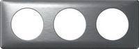 68923 Celiane Алюминий Рамка 3-ая (2+2+2 мод)
