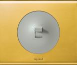 69132 Celiane Золото Рамка 2 поста (4 модуля)