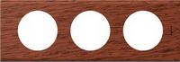 69223 Celiane Орех Рамка 3-ая (2+2+2 мод)