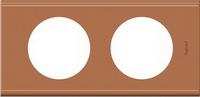 69282 Celiane Кожа Крем Карамель Рамка 2-я (2+2 мод)