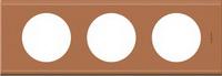 69283 Celiane Кожа Крем Карамель Рамка 3-ая (2+2+2 мод)