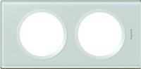 69312 Celiane Смальта Белая Рамка 2 поста (2+2 мод)