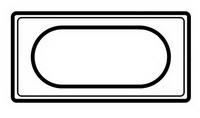 69315 Celiane Смальта Белая Рамка 4/5 модулей