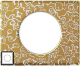 69331 Celiane Фарфор Рамка Золотая феерия 1 пост (2 модуля)