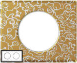 69332 Celiane Фарфор Рамка Золотая Феерия 2 поста (4 модуля)