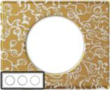 69333 Celiane Фарфор Рамка Золотая Феерия 3 поста (6 модулей)