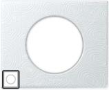 69351 Celiane Фарфор Рамка Белая Феерия 1 пост (2 модуля)