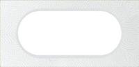 69355 Celiane Фарфор Рамка Белая Феерия 2 поста (4/5 модулей)