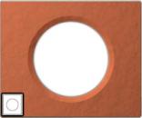 69361 Celiane Терракота Рамка 1 пост (2 модуля)