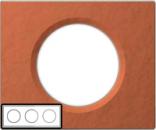 69363 Celiane Терракота Рамка 3 поста (6 модулей)