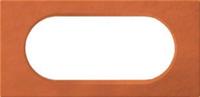 69365 Celiane Терракота Рамка 2 поста (4/5 модулей)