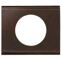 69401 Celiane Коричневая текстурная кожа Рамка 1-ая