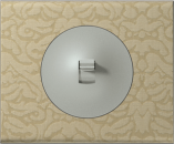 69413 Celiane Текстиль орнамент Рамка 3 поста (6 модулей)