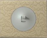69414 Celiane Текстиль орнамент Рамка 4 поста (8 модулей)