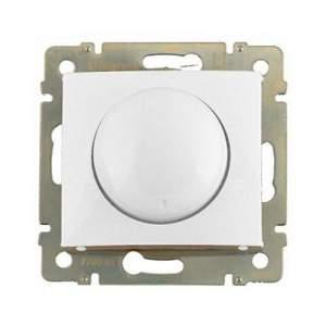 694288 DIY Valena Бел Светорегулятор поворотный 40-400W для ламп накаливания (вкл поворотом)