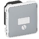 69517 Plexo Серый Мех Выключатель сумеречный